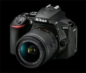 Nikon D5600 + AF-P 18-55 VR + 70-300VR čierny