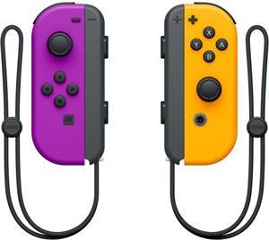 Nintendo Joy-Con Pair, Neon Purple/Neon Orange