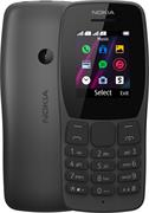 Nokia 110, Dual SIM, čierny