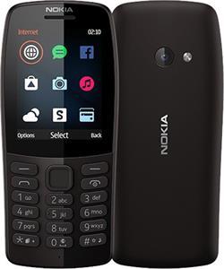 Nokia 210, Dual SIM, čierny