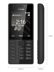 Nokia 216 Dual SIM, čierna