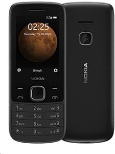 Nokia 225, Dual SIM, čierna