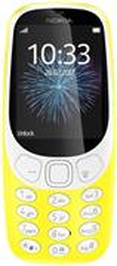 NOKIA 3310, Dual Sim, žltá