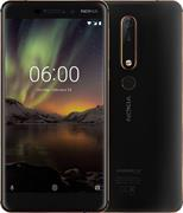 Nokia 6.1, Single Sim, čierna