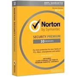 NORTON SECURITY PREMIUM 3.0 25GB CZ 1 uživatel pro 10 zařízení na 12 měsíců - elektronicky