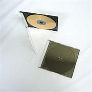 Obal na 1 CD slim čierny