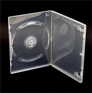 Obal na 1 DVD 14mm/priesvitny