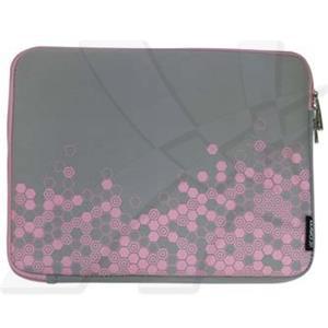"""Obal na 12,1"""" notebook, Sleeve Graphic, šedo-ružový, neoprén, 22 X 29 cm, LOGO"""