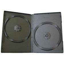 Obal na 2 DVD 9mm čierny