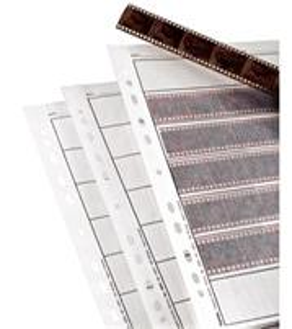 Obal na negatívy, 7 pásov á 6 obrázkov (24x36 mm), pergamen matný, 100 ks