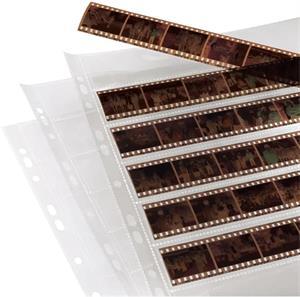 obal na negatívy, na 7 pásov po 6 záberov 24x36 mm, 260x310 mm, PP číry, 100 ks