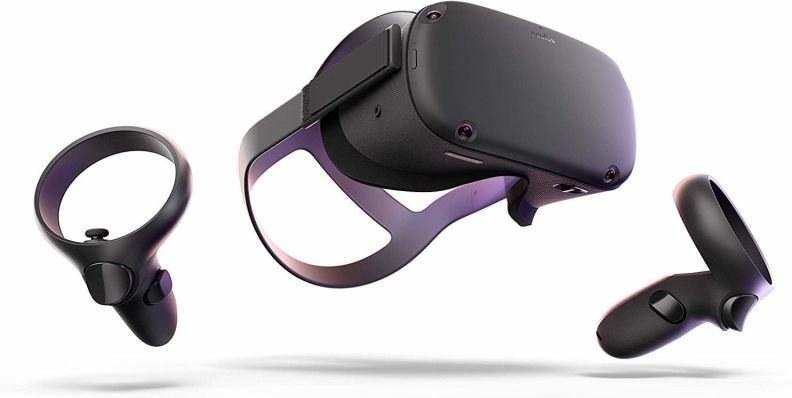 Oculus Quest 128GB, okuliare na virtuálnu realitu, čierne