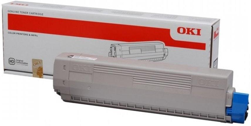 OKI 45862840, čierny, 7000 strán, pre MC853/873