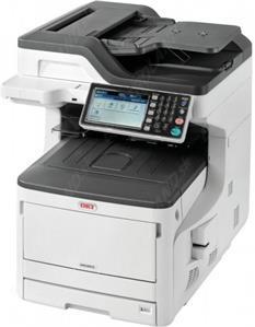 OKI MC853dn, (color laser), A3, duplex, fax, net, wifi