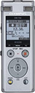 Olympus DM-720, diktafón, strieborný