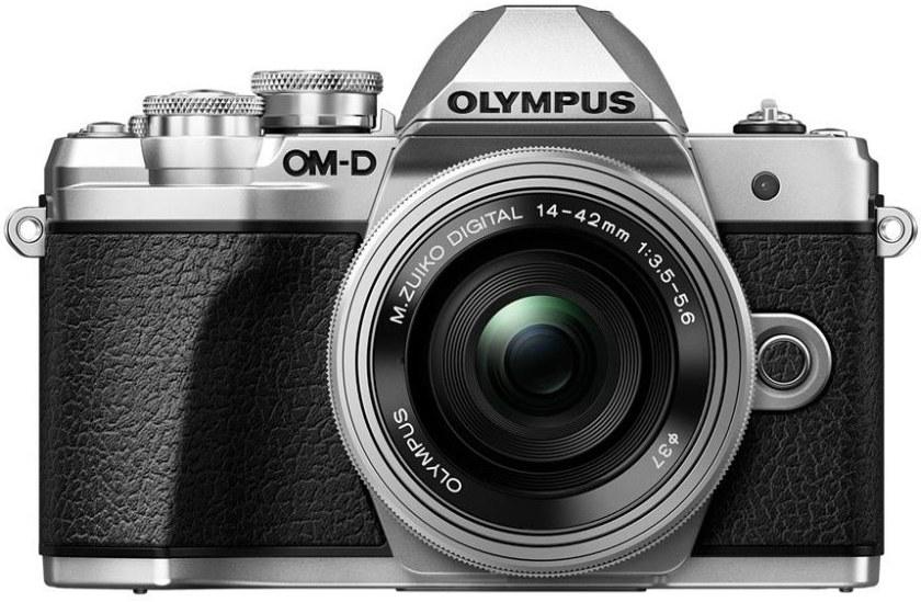 Olympus E-M10 Mark III + 14-42mm II R, strieborný