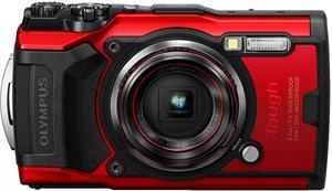 Olympus TG-6, červený