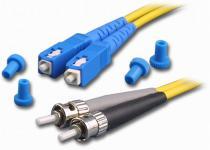 Optický patch kábel, SC-ST 62,5/125, 2m