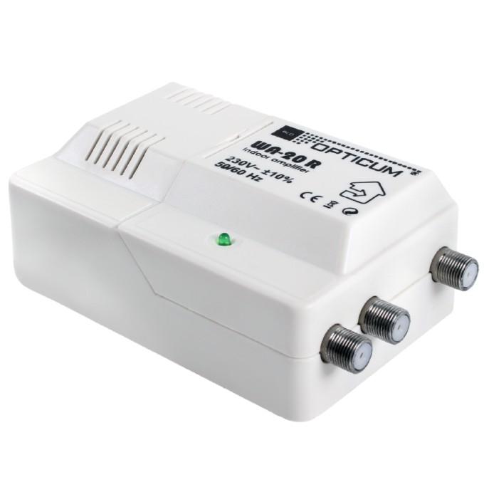 Opticum WA-20 R, domový zosilňovač 50/60 Hz, RED