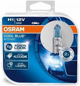 Osram Cool Blue Intense 64150CBI H1 2ks/bal