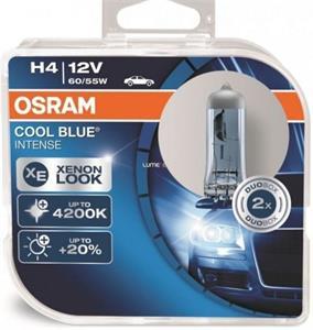 Osram Cool Blue Intense 64193CBI H4 60/55W 2ks/bal.