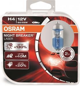 Osram Night Breaker Laser 64193NBL-HCB 60/55W H4 +130% 2ks/bal.