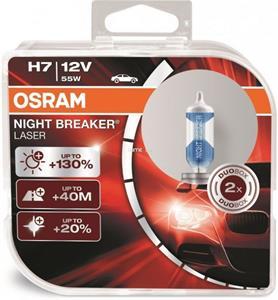 Osram Night Breaker Laser 64210NBL-HCB 55W H7 +130% 2ks/bal.