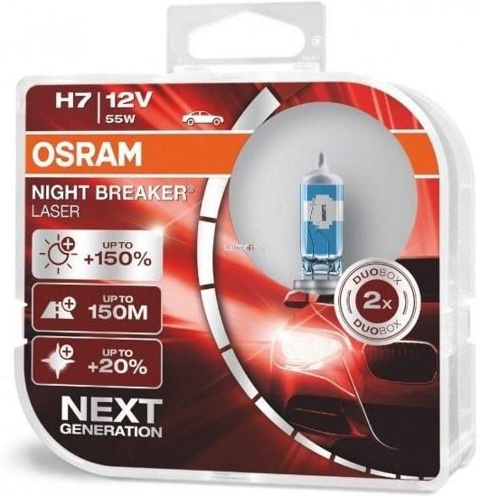 Osram Night Breaker Laser H7 +150% 2ks/bal.