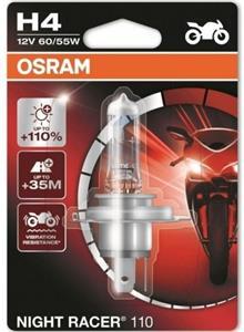 Osram Night Racer 110 64193NR1-01B H4 +110% blister