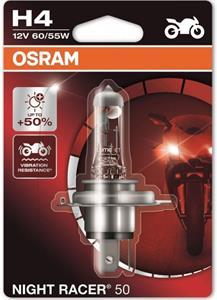 Osram Night Racer 50 64193NR5-01B H4 +50% blister