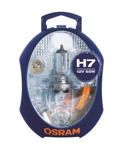 Osram sada autožiaroviek MINIBOX (ALBM) CLKM-H7