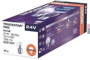 Osram Truckstar Pro 7511TSP P21W 24V BA15s krabičkové balenie
