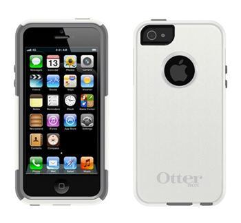 OtterBox pouzdro Commuter pro Apple iPhone 5, Glacier (bílá/šedá)