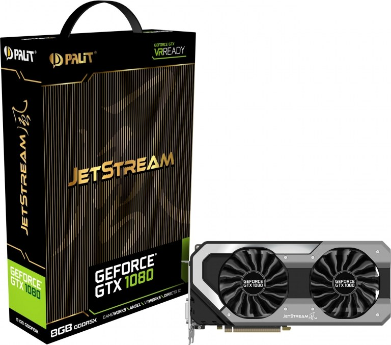 PALIT GeForce GTX 1080 Jetstream, 8GB