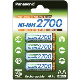 Panasonic 3HGAE/4BE AA 4x 2700