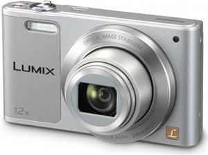 Panasonic DMC-SZ10EP-S, 16Mpx, 12x zoom, strieborný