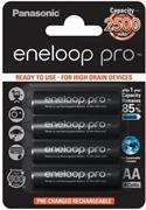Panasonic Eneloop Pro BK-3HCCE NiMH AA 2500mAh BL4