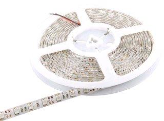 Pásik LED Whitenergy vodotesný 5m 60ks/m 5050 14.4W/m 12V DC zelený