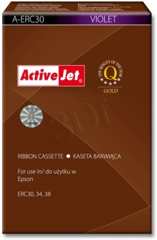 Paska ActiveJet EPSON ERC 30, 34, 38 NYLON VIOLET