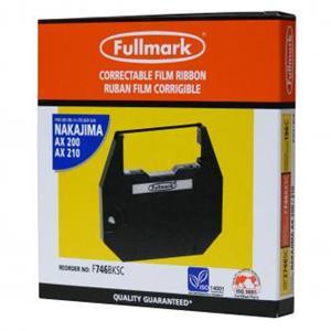 Páska pre písací stroj, pre Nakajima AX 200, 300, 500, 60, EW 310, 1000, čierna, fóliová