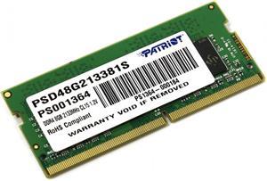 Patriot RAM, DDR4, 8GB, 2133MHz, SO-DIMM