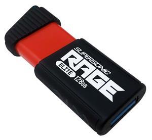 Patriot Supersonic Rage Elite, 128GB, čierny