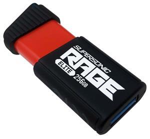 Patriot Supersonic Rage Elite, 256GB, čierny