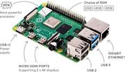 PC Raspberry Pi 4 Model B 8GB/WiFi/BT/1000Mbps