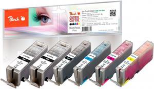 Peach Multi Pack Plus kompatibil s Canon 2xPGI-570XL, CLI-571XL
