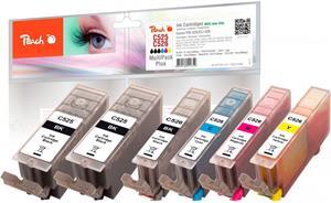 Peach Multi Pack Plus kompatibil s Canon CLI-526XL, PGI-525XL