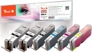 Peach Multi Pack Plus kompatibil s Canon PGI-550XL, CLI-551XL
