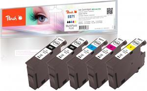 Peach Multi Pack Plus kompatibil s Epson T0715, T0711, T0712, T0713, T0714