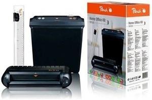 Peach Office Kit - 3in1, skartovačka, laminátor, rezačka