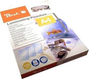 Peach PP525-02, laminovacia fólia, 100ks, 125mic, lesklá